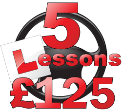 First 5 lessons for £125